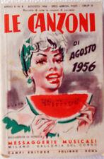 Les Chansons de Août 1956 / 8 Courriers Électroniques Musicali-Design