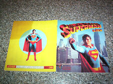 ALBUM SUPERMAN PANINI 1979 COMPLETO OTTIMO SERIE TV NO CALCIATORI MANGA DISNEY