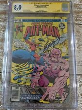 Marvel Premiere #48 Newsstand CGC SS 8.0 SIGNED BOB LAYTON / 2nd Lang as Ant-man