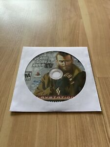 Grand Theft Auto IV GTA 4 PS3 Sony PlayStation 3 2008 Disc Only