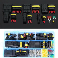 240pcs 1-6Pin Car Motorcycle Electrical Wire Waterproof Connector Plug Terminals