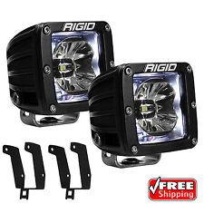 Rigid Radiance Pod White Back Light Fog Light for 99-16 Ford F250 F350 Excursion