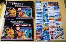 PERU:  TRANSFORMERS NAVARRETE  - REEDITIONS- EMPTY ALBUM MORE  STICKERS
