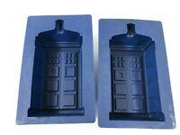 "Doctor Who Silicone Tardis Mold Set of 2 Cake Gelatin Chocolate Pan 5"""