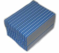 50 x PROFESSIONALE bufferfeilen 220/220, 175x30x10mm / BUFFER LIMA LUCIDANTE
