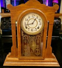 Ingraham 8 Day Mantel Kitchen Mantel Clock