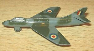 DINKY Toys HAWKER HUNTER Airplane no.736 VGC