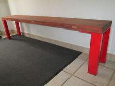 Sitzbänke & Hocker aus Stahl für die Terrasse