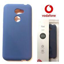 Genuino Funda Smart N8 Oficial Vodafone Tacto Suave Cubierta Protectora Azul