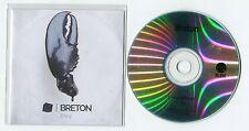 Breton - cd-PROMO - ENVY © 2013 - France-1-Track-CD - indie - rock
