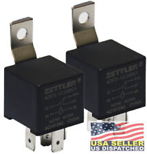 (Pair) American Zettler AZ973-1C-24DC1 Electromechanical Automotive 24 V Relay