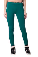 HOSS INTROPIA Leggings Size 40 / M Green Elasticated Waist Cropped