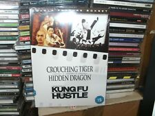 Crouching Tiger Hidden Dragon/Kung Fu Hustle (DVD, 2007, 2-Disc Set)
