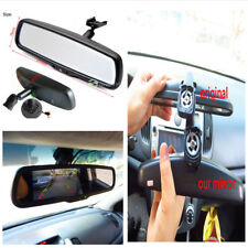 4.3''HD Dimming Anti-glare Rearview Mirror Monitor Display 2 Video Input+Bracket