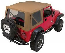 Rampage 68836 Replacement Soft Top w/ Frame & Hardware 1997-06 Jeep Wrangler, TJ