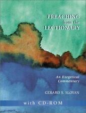 NEW - Preaching from the Lectionary: An Exegetical Commentary, Gerard S. Sloyan
