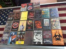 Rock Metal Punk Ska Cassette Tape Lot Of 24! Tested! Works! See Pics!