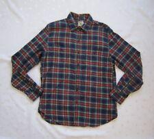 J. CREW Women's Buttons Down Tartan Plaid Flannel Shirt - Size M / Medium