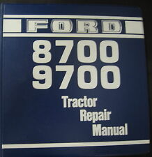 Ford 8700 and 9700 Tractors Repair Service Manual