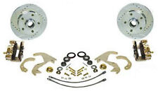 "1955-57 Bel Air Zero Off-set  Front Disc Brake Kit 14"" or larger wheels- Chrome"