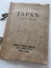 1930s Japanese Government Railways Photo Book Rozasi Board of Tourist Industry
