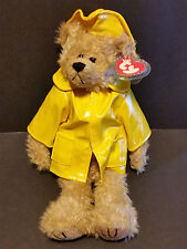 "1993 Ty Plush 13"" Gordon the Bear W/Raincoat"