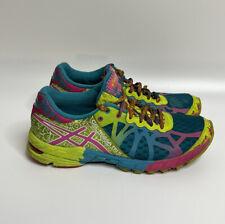 Asics Gel Noosa Tri 9 Womens Sz 8  Blue Volt Lace Up Low Top Running Shoes T458N