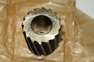 "SKF DORMER B302, 2-3/8"" HSS Shell Mill Reamer LEFT Hand Spiral Cut, England UK"