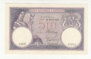 Romania 5 lei 1920 EF p19 @low start