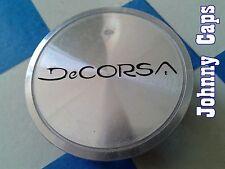 DeCorsa Wheels Silver Center Caps #D613 Custom Wheel USED Center Cap (1)