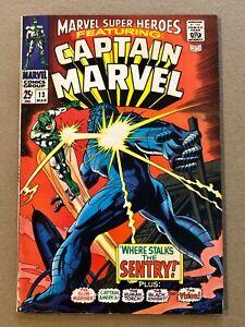 Marvel Super Heroes # 13 1st Appearance Carol Danvers (Ms. Marvel) 2nd Cp Marvel