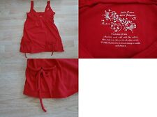 Womens S Energie Cami Shirt Tank Pockets Red