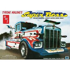 AMT 1:25 Tyrone Malone Kenworth Super Boss Drag Truck Plastic Model Kit AMT930