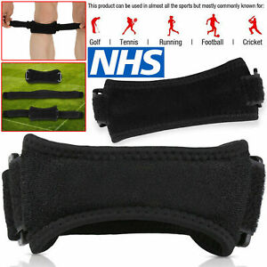 Adjustable Knee Support Brace Open Patella Running Strap Injury Pain Relief