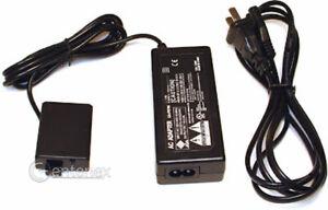 AC Power Supply & Coupler for Canon ACK-E5 Canon Elura 40MC 50 DR-E5 CA-PS700