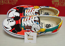 Vans Era Disney Mickey & Friends Multi VN000ZULGHF men's Size 10.5