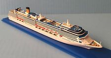 1:1250 scale COSTA MEDITERRANEA cruise ship MODEL ocean liner boat by SCHERBAK
