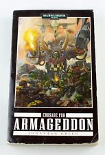Warhammer 40k Space Marine Book Crusade for Armageddon by Jonathan Green - PB