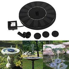 Schwimmen Solarbetrieben Garten Water Pumpen Fountain Pond Für Bird Bath Panzer