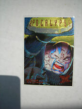 1995  X-men Gold Hunters and Stalkers Insert Card #1 of 9 APOCALYPSE