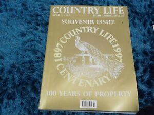 COUNTRY LIFE CENTENARY SOUVENIR ISSUE
