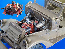 PLUS MODEL 162 Engine for M3 Scout Car in 1:35
