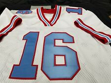 #00 Houston Oilers Football Jersey Your Name sewn On.4XL5XL,6XL7XL.