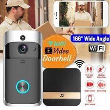 Wireless WiFi Video Doorbell Smart Door Ring Intercom Security 1080P Camera Bell