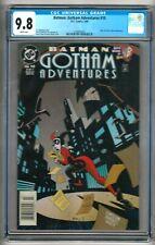 "Batman: Gotham Adventures #10 (1999) CGC 9.8  WP ""Harley Quinn""  ""NEWSSTAND"""
