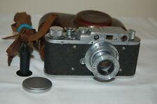 FED 1 (type G) Vintage 1955 Soviet Rangefinder Camera & Case. No.577011. UK Sale