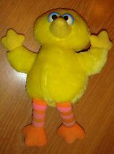 "1992 Big Bird Plush By Child Kid Dimension - 9"" - Hasbro Sesame Street"