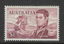 AUSTRALIA 1966 $1 MATTHEW FLINDERS NAVIGATOR Single MNH