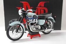 1:6 VMB Triumph Bonneville T120 *Blue Tank* Premium Bike Motorrad
