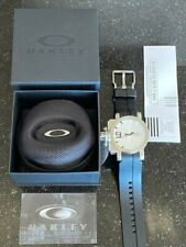 Oakley Men's GEARBOX Watch 10-063 White Face with Sapphire Crystal